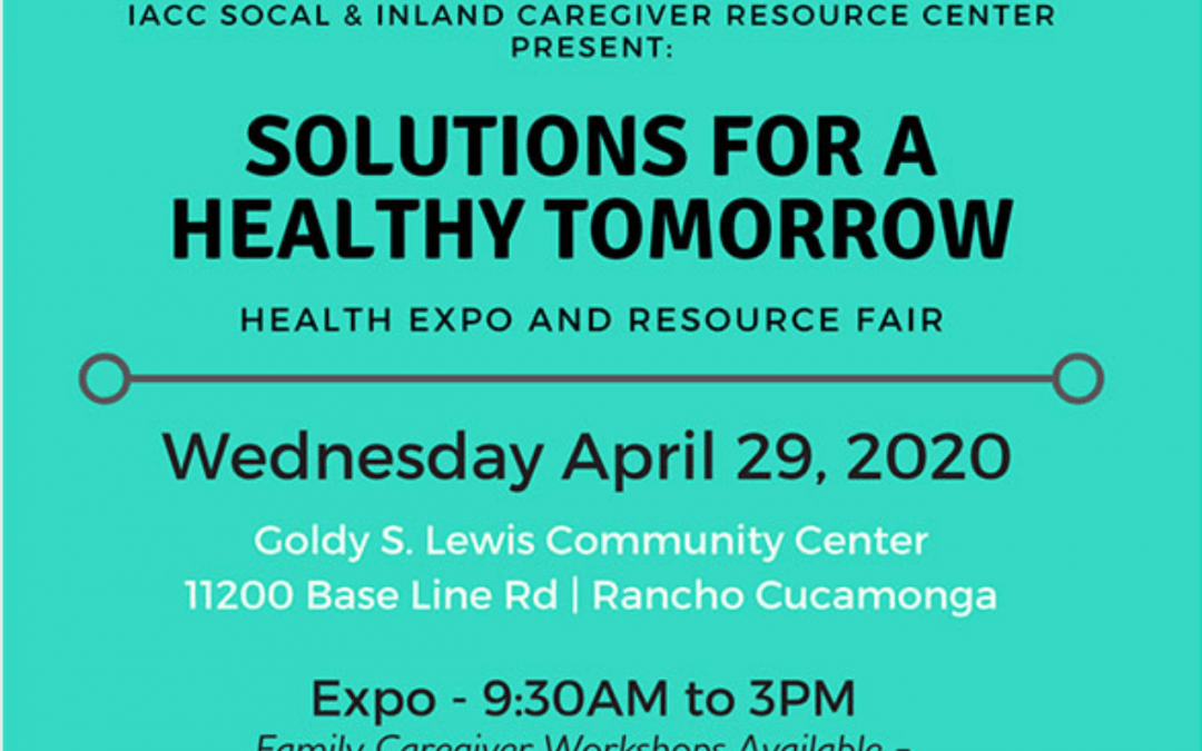Solutions For A Healthy Tomorrow
