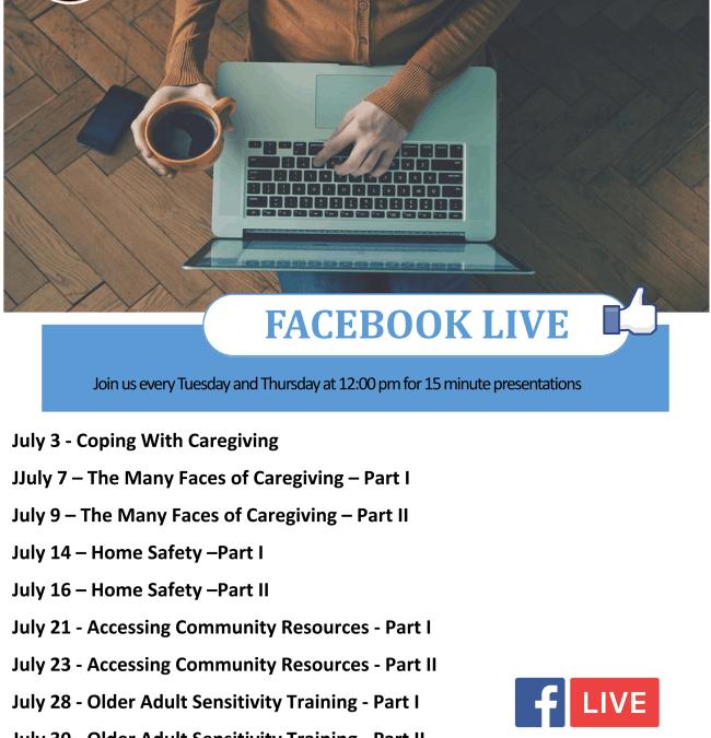 Facebook Live Presentations