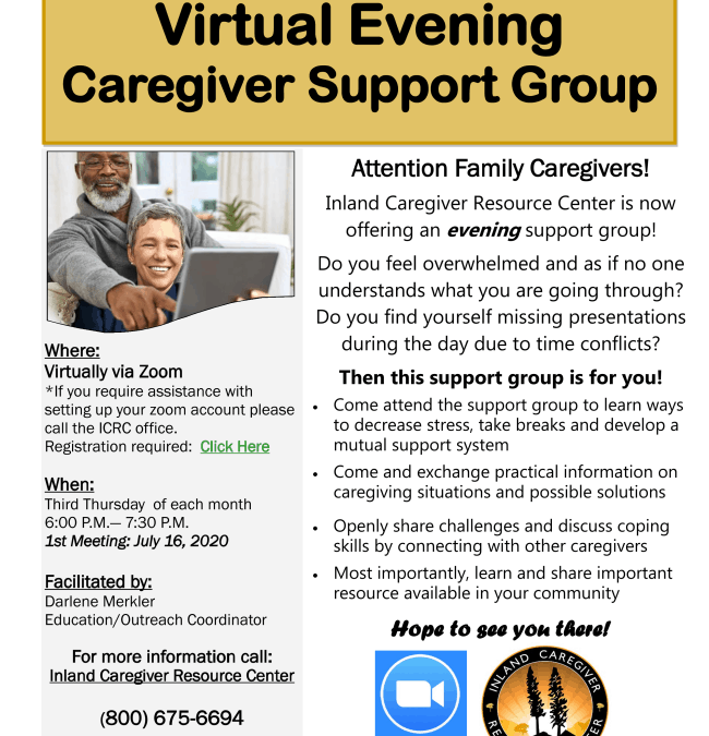 New Evening Support Group