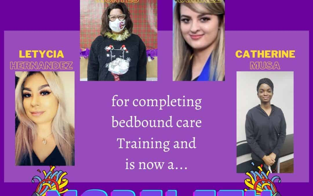 Bedbound Care Training